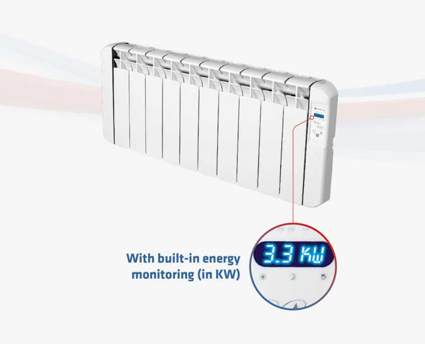 RCBL Electric Radiator - Energy Monitoring