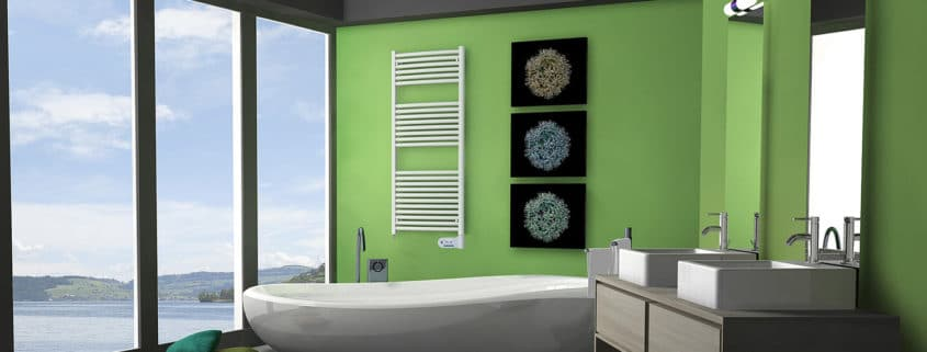 Electric towel rail heater