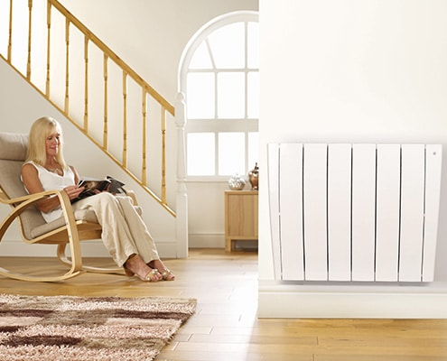 Smart electric radiator